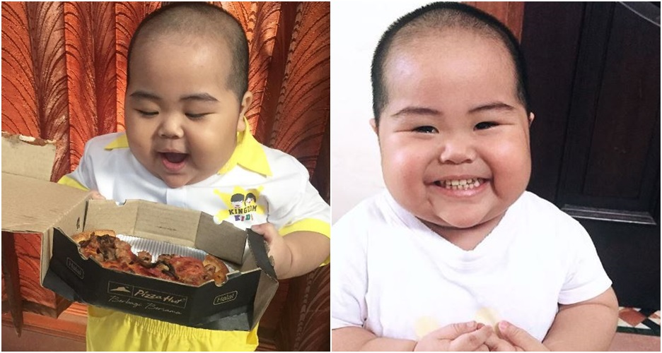 Tatan, bayi super gemes yang viral karena aksi kocaknya di Instagram