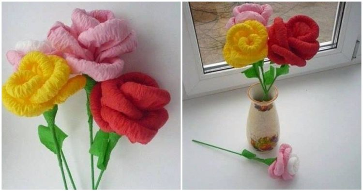 8 Langkah bikin bunga kertas untuk hiasan di rumah, gampang lho