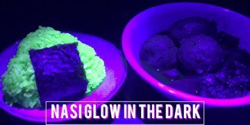 Nasi 'glow in the dark' ini lagi ngehits di Jepang, yuk coba resepnya