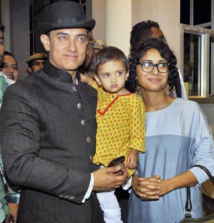 12 Potret Bahagia Aamir Khan Bareng Anak Dan Istri Penuh Kehanga