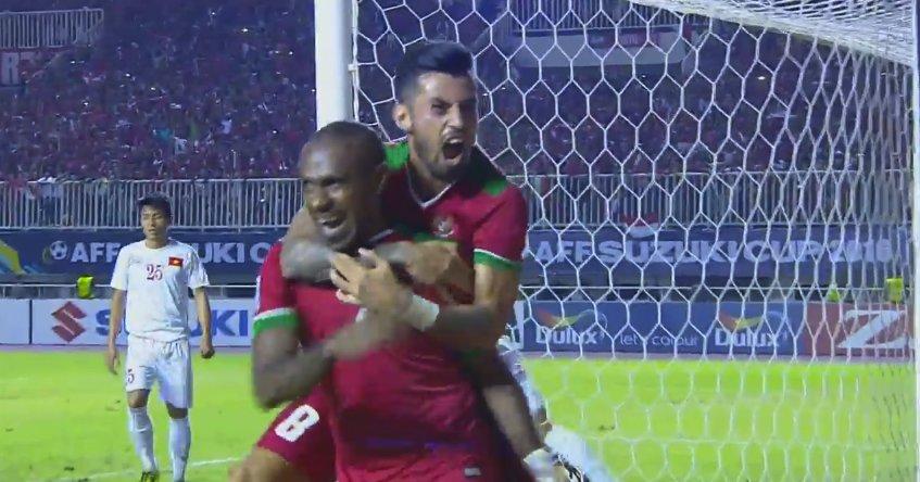 Semifinal Piala AFF 2016, Indonesia sukses tundukkan Vietnam 2-1