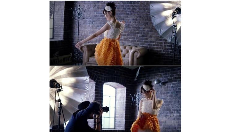 Unik, gaun cantik ini bisa dimakan lho, kok bisa?
