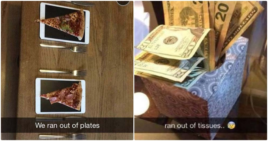 12 Kelakuan anak orang kaya saat main Snapchat, bikin geregetan!