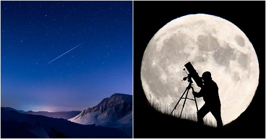 Selain supermoon, ini fenomena langit yang terjadi di bulan Desember