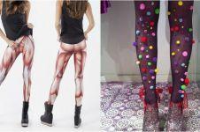 15 Legging ini motifnya antimainstream, kamu berani pakai?
