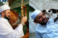 Mustafa Efe, imam yang biarkan kucing masuk masjid agar tak kedinginan