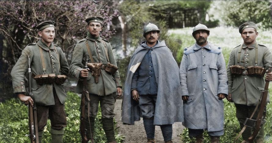 10 Foto Perang Dunia I yang diwarnai, hasilnya bikin berdecak kagum