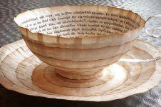 10 Kreasi daur ulang dari kertas kuno, indah dan bernilai seni tinggi