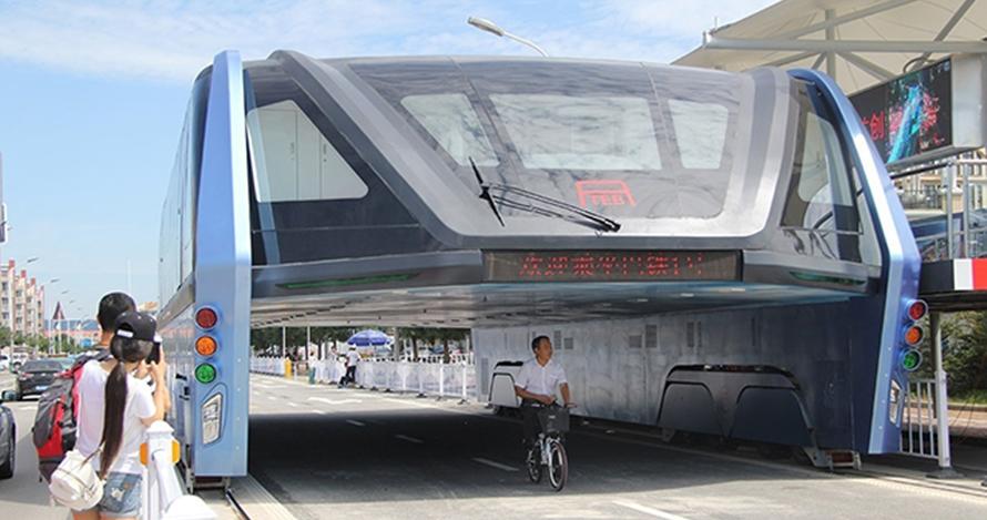 Sempat heboh, begini kondisi bus antimacet buatan China saat ini