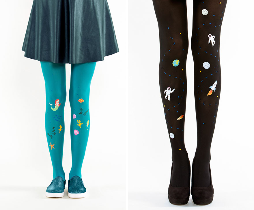 desain stocking anti mainstream ini bikin kamu jadi pusat perhatian © 2016 boredpanda