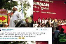 5 Kicauan netizen untuk Ridwan Kamil soal #BandungIntoleran ini viral