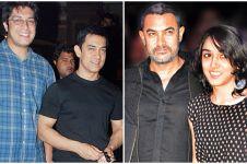 10 Foto Aamir Khan tetap hangat bareng anak meski tak dapat hak asuh