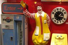 Wow, ada museum burger lho di Amerika Serikat