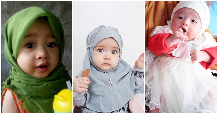 Foto Bayi Pakai Jilbab Ini Imutnya Nggak Nahan Jadi Pengen Nyubit