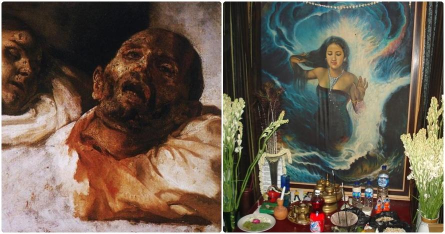 8 Lukisan penuh aura mistis ini bikin nggak berani lihat lama-lama