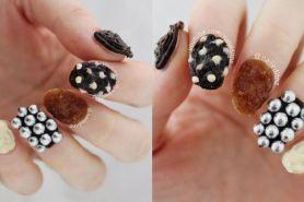Kreatif, wanita ini ciptakan nail art dari cokelat