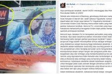 Curhat alumni UKDW soal penurunan baliho mahasiswi berjilbab ini viral