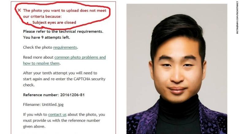 Punya mata sipit, foto pria ini tak terdeteksi aplikasi paspor online