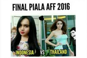 9 Meme Indonesia versus Thailand yang bikin Final AFF 2016 makin panas