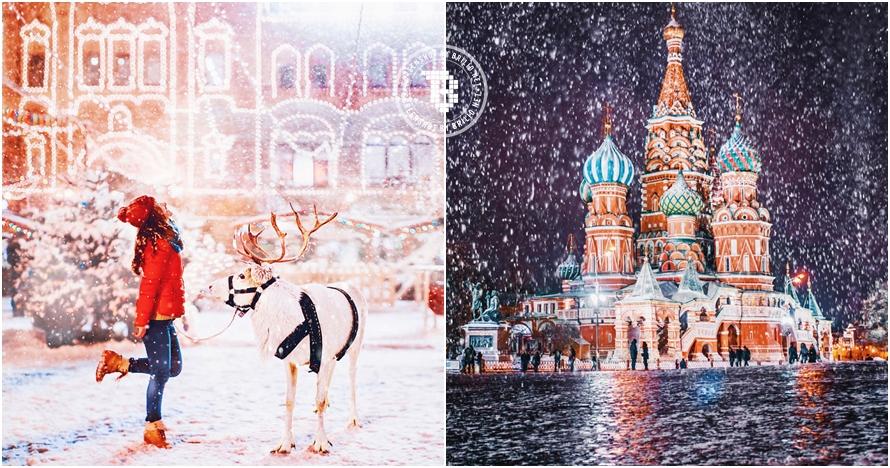 12 Foto ini tunjukkan keindahan Moskow bak negeri dongeng