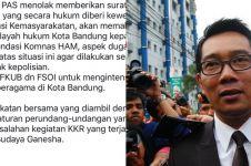 Ini sanksi dari Ridwan Kamil bagi ormas yang bubarkan kebaktian
