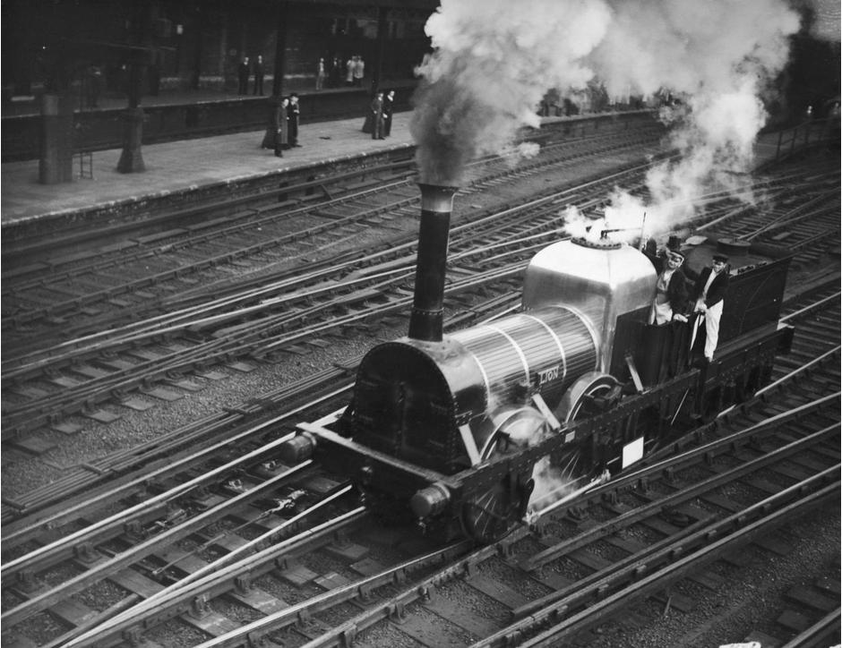 13 Foto Jadul Ini Tunjukkan Kereta Api Jadi Primadona Di Inggris