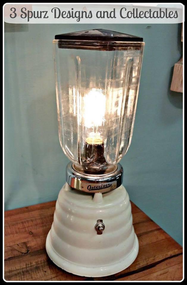 kap lampu  Hexagon Graphic