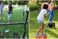 15 Ide ajak anak bermain di halaman rumah, bisa sekalian ngawasin