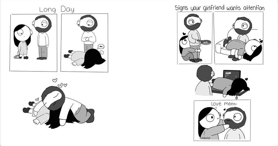 10 Ilustrasi romantisnya pasangan ini bikin pengen 'ngehalalin' kamu