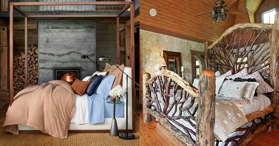 10 Inspirasi ubah kamar tidur jadi ala Twilight cuma dengan kayu bekas