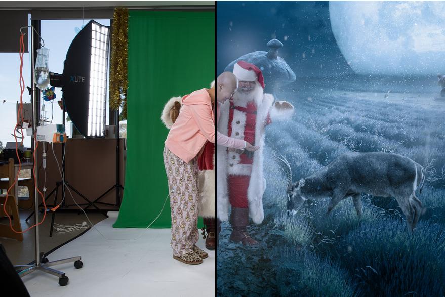 10 Editan foto menakjubkan ini dibuat untuk hibur penderita kanker