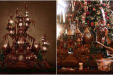 11 Foto miniatur istana ini terbuat dari kue jahe, hasilnya megah abis