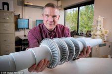 Wow, turbin sebesar meja kerja ini mampu terangi 10.000 rumah
