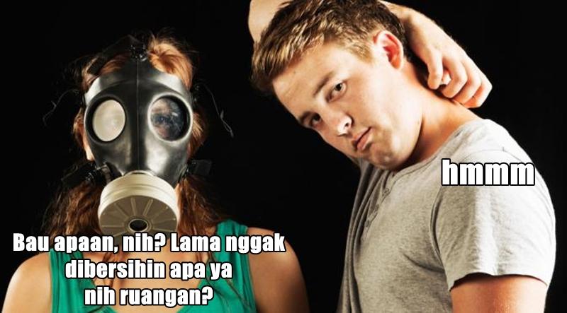 Sindirian buat orang bau badan berbagai sumber