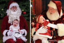 Tak sesuai harapan, 10 pemotretan bayi sambut Natal ini gagal total