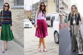 15 Inspirasi metallic skirt yang lagi hits di kalangan seleb Bollywood