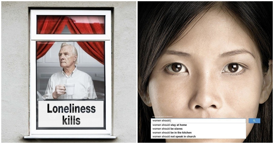 18 Desain iklan ini bakal nyentil kesadaran terhadap lingkungan, keren