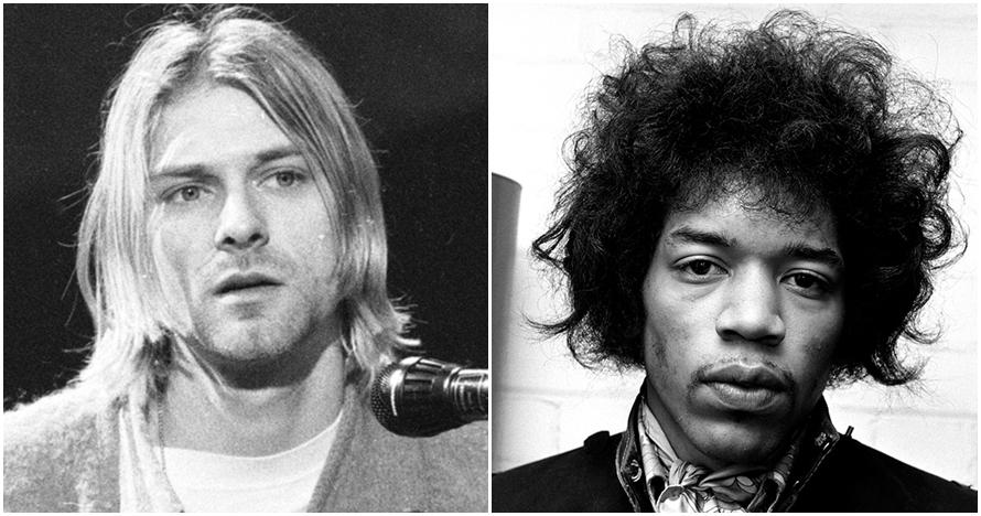 Ilustrasi wajah mendiang 10 musisi dunia andai mereka masih hidup