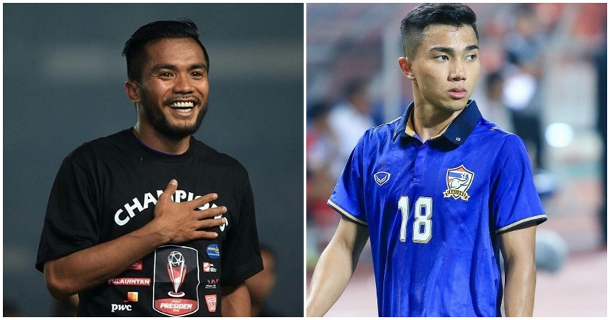 10 Foto 'head to head' Ronaldo Indonesia vs Messi Thailand