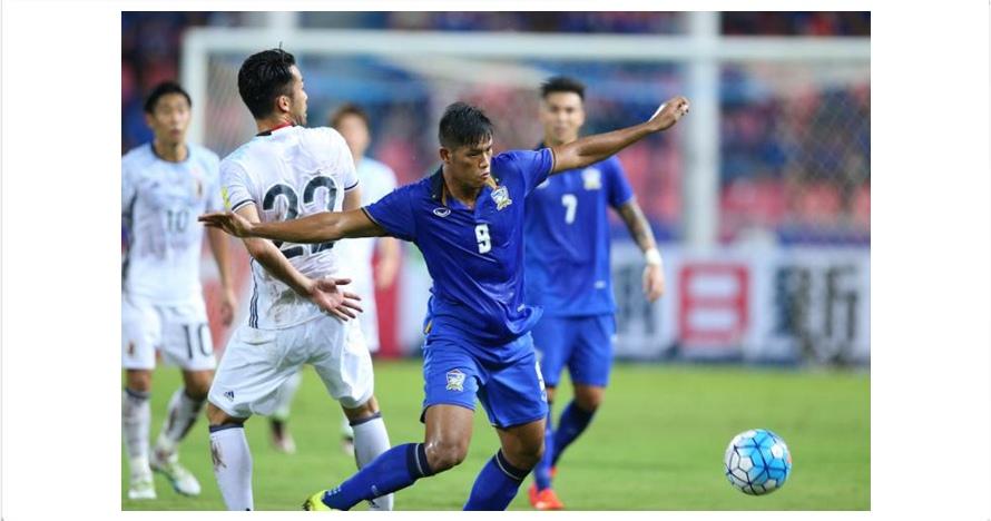 Turun minum, Thailand unggul 1-0 lewat gol kebetulan Siroch Chatthong