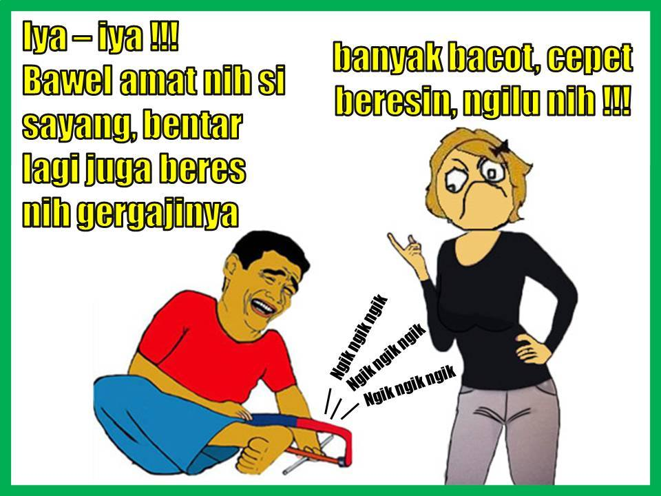 Gergaji Lucu © 2016 facebook.com/meme & rage comic indonesia