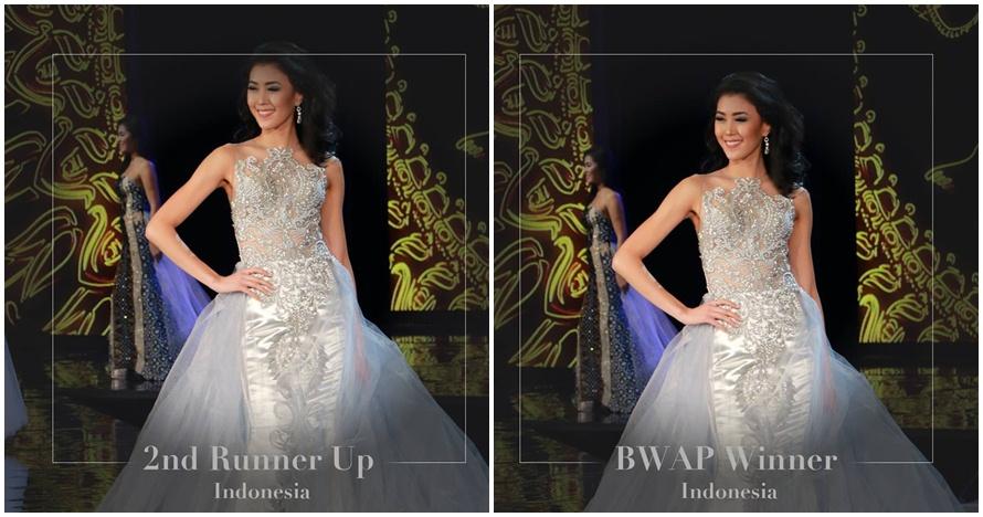 Natasha Mannuela sabet 3 penghargaan di ajang Miss World 2016, wow