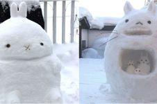 11 Boneka salju unik ini buat kamu takjub, kreatifnya kebangetan