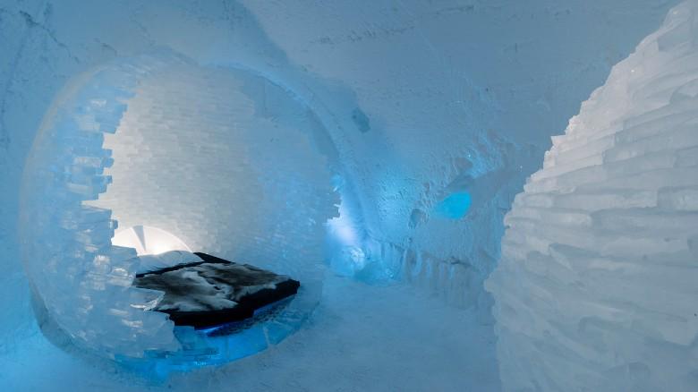karya seni unik dari es  © 2016 cnn