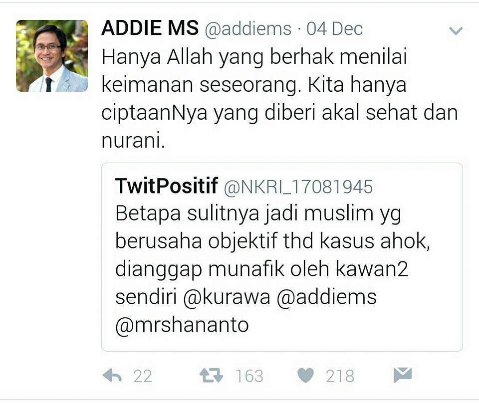 tweet Addie MS © 2016 twitter