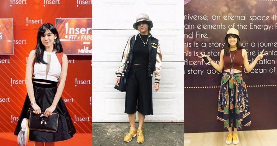 10 Gaya fashion ala DJ cantik Putri Una yang bisa jadi inspirasimu