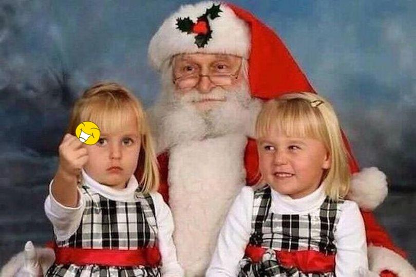 foto natal keluarga paling absurd © 2016 mirror.co.uk