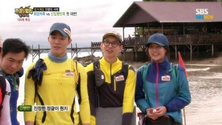 Syuting reality show Korea © 2016 brilio.net