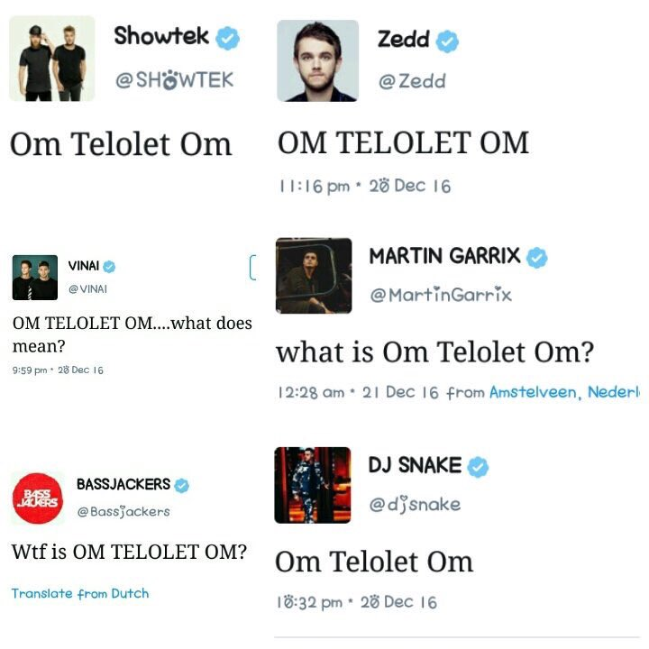 Om Telolet Om © 2016 twitter