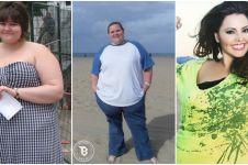 13 Foto sebelum dan sesudah cewek diet ini dijamin bikin cowok melongo